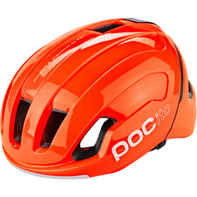 POC POCito Omne Spin Casco Niños, fluorescent orange